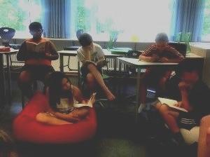 Lesen in kleinen Gruppen