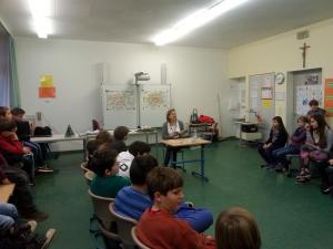 Lesung für Grundschüler aus 'Abenteuer in München'